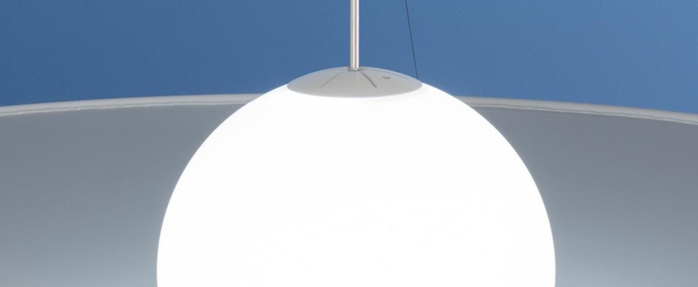 Suspension manto blanc led 2700k 2507lm o120cm hcm axo light normal