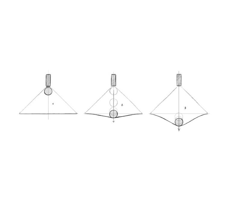 Manto david besozzi suspension pendant light  axolight spman120grxxled  design signed nedgis 109914 product