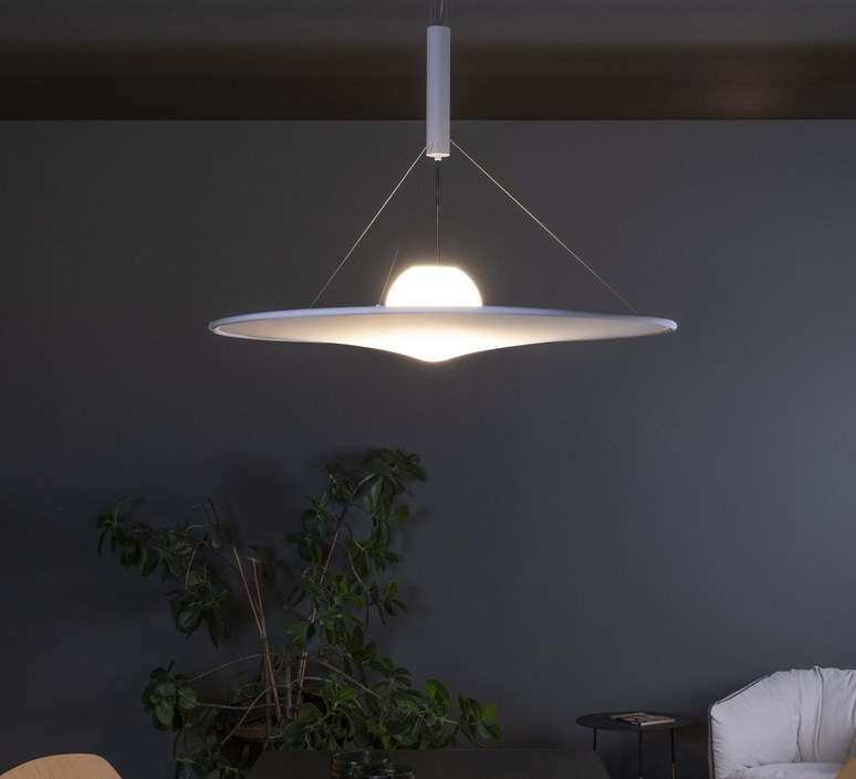 Manto david besozzi suspension pendant light  axolight spman120grxxled  design signed nedgis 109918 product
