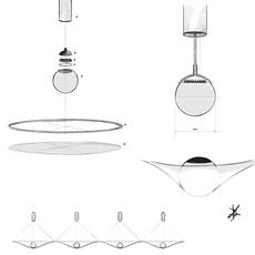 Manto david besozzi suspension pendant light  axolight spman120grxxled  design signed nedgis 109921 thumb
