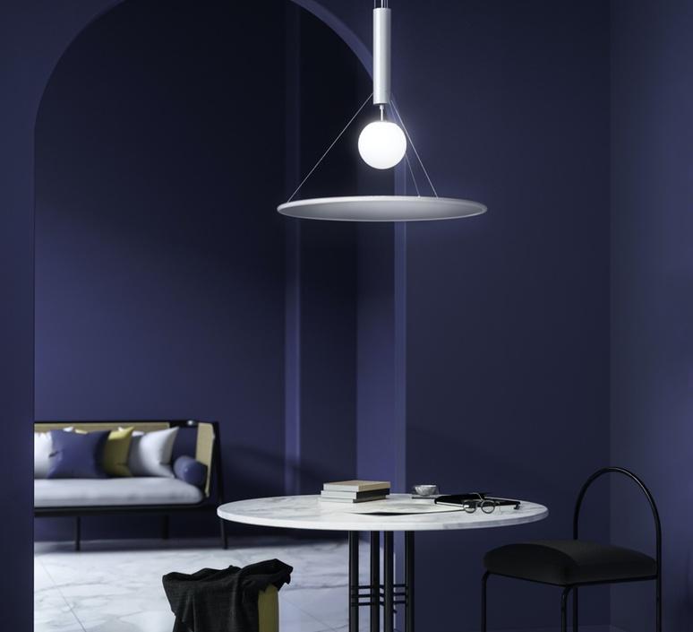 Manto david besozzi suspension pendant light  axolight spman120grxxled  design signed nedgis 109922 product