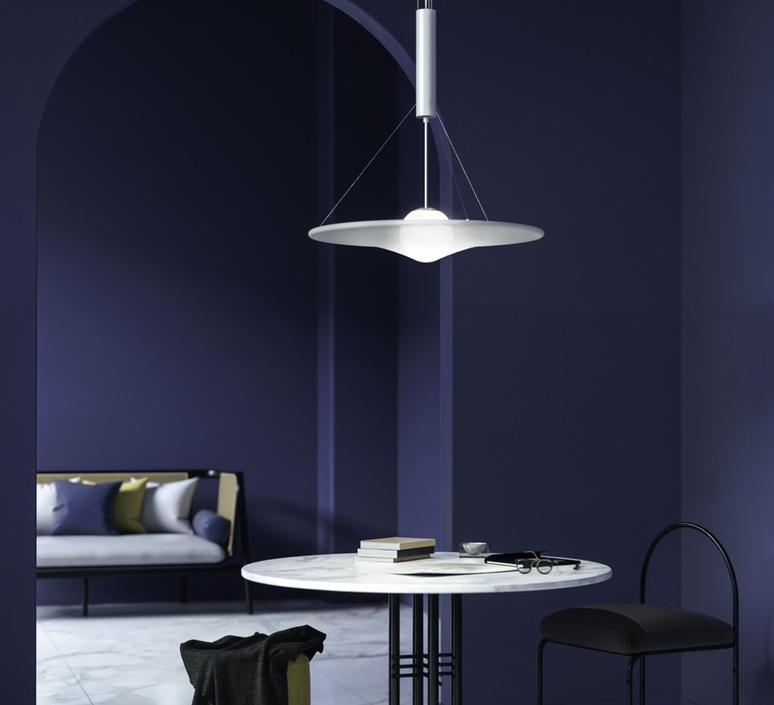 Manto david besozzi suspension pendant light  axolight spman120grxxled  design signed nedgis 109923 product