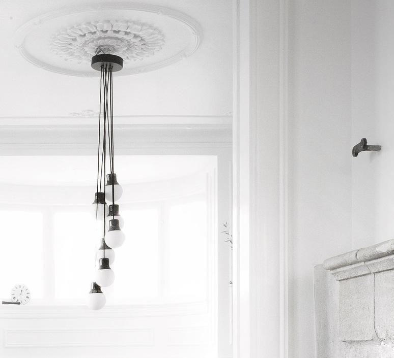 Mass light chandelier  suspension pendant light  andtradition 20610900  design signed 36224 product