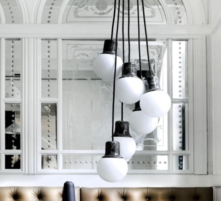 Mass light chandelier  suspension pendant light  andtradition 20610900  design signed 56876 product