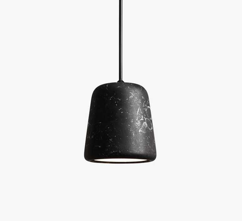 Material black marble noergaard kechayas suspension pendant light  newworks 20118  design signed 30655 product