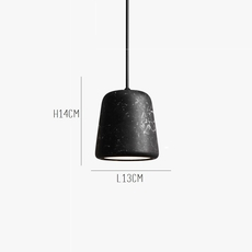 Material black marble noergaard kechayas suspension pendant light  newworks 20118  design signed 30656 thumb
