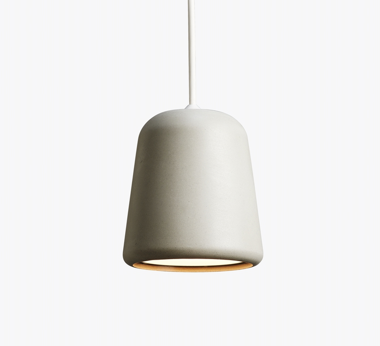 Material light grey concrete  noergaard kechayas suspension pendant light  newworks 20115  design signed 30649 product