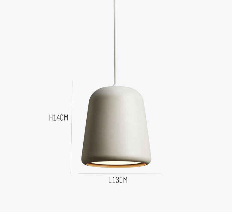 Material light grey concrete  noergaard kechayas suspension pendant light  newworks 20115  design signed 30650 product