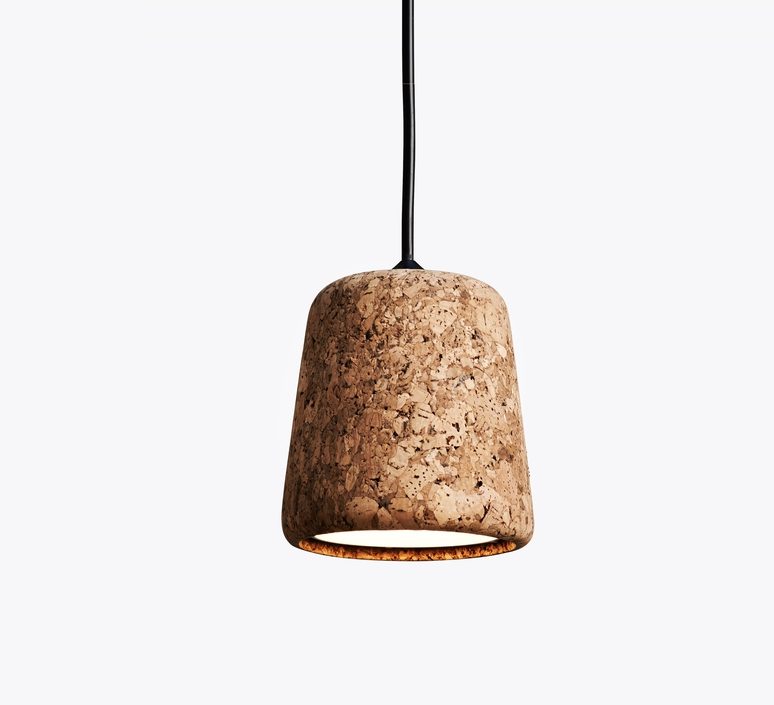 Material mixed cork  noergaard kechayas suspension pendant light  newworks 20111  design signed 30645 product