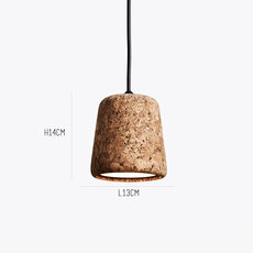 Material mixed cork  noergaard kechayas suspension pendant light  newworks 20111  design signed 30646 thumb