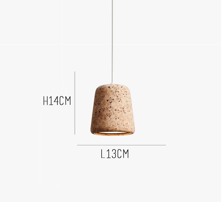 Material natural cork noergaard kechayas suspension pendant light  newworks 20110  design signed 30644 product