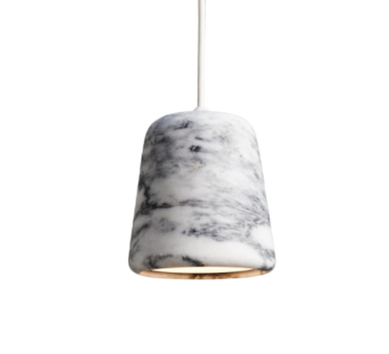 Material white marble  noergaard kechayas suspension pendant light  newworks 20119  design signed 30657 product