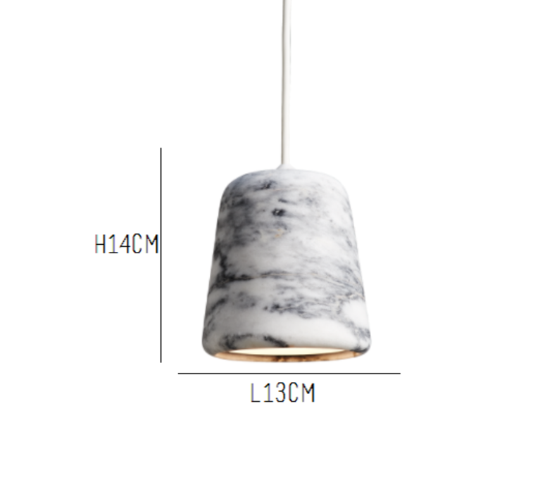 Material white marble  noergaard kechayas suspension pendant light  newworks 20119  design signed 30658 product