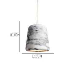 Material white marble  noergaard kechayas suspension pendant light  newworks 20119  design signed 30658 thumb