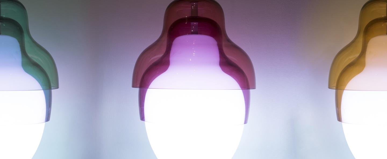 Suspension matrioshka rouge h32cm innermost normal