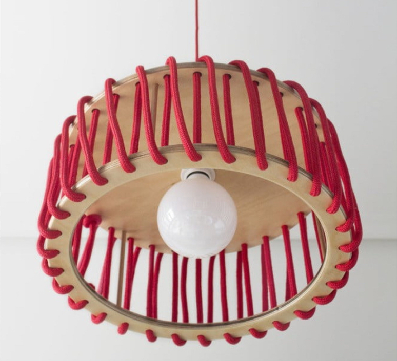 Mch45red silvia cenal suspension pendant light  emko mch45red  design signed nedgis 71880 product