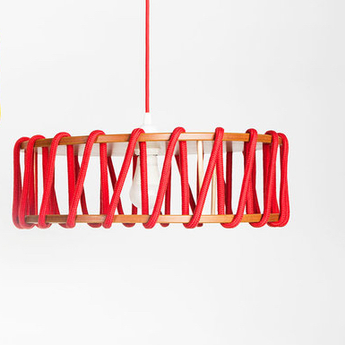 Suspension mch45red rouge o45cm h14 5cm lumneo normal