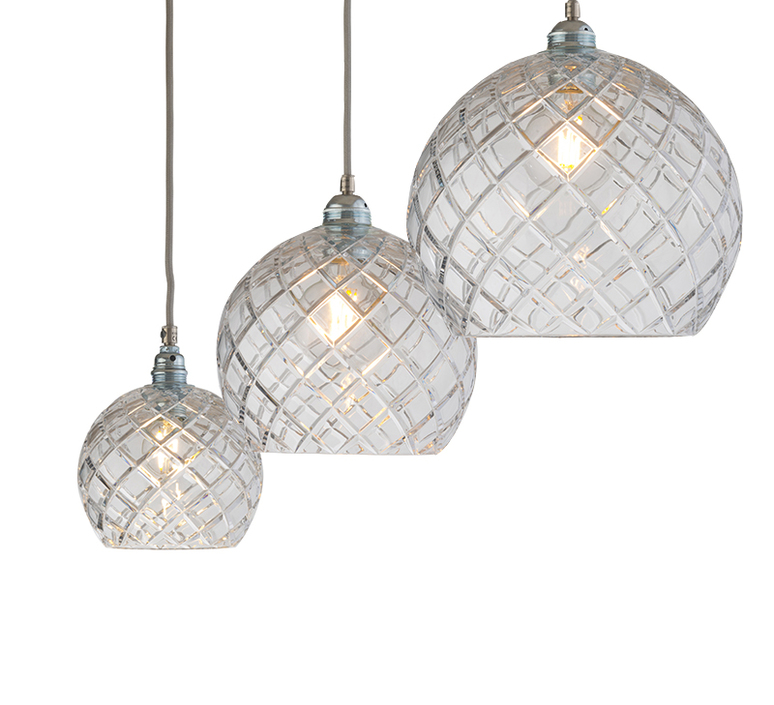 Medium check crystal rowan 15 5 susanne nielsen suspension pendant light  ebb and flow la101527  design signed nedgis 72619 product