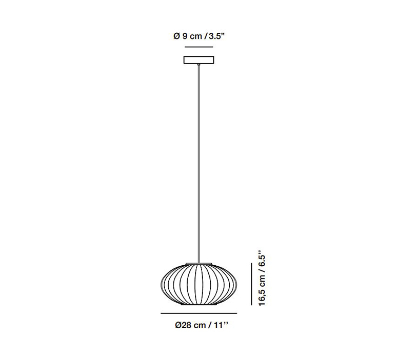 Mei nahtrang design suspension pendant light  carpyen 3351200  design signed nedgis 123168 product