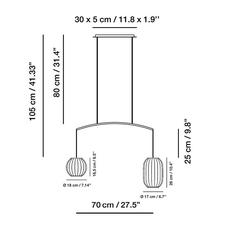 Mei nahtrang design suspension pendant light  carpyen 3371200 pan1330 pan1331  design signed nedgis 123176 thumb