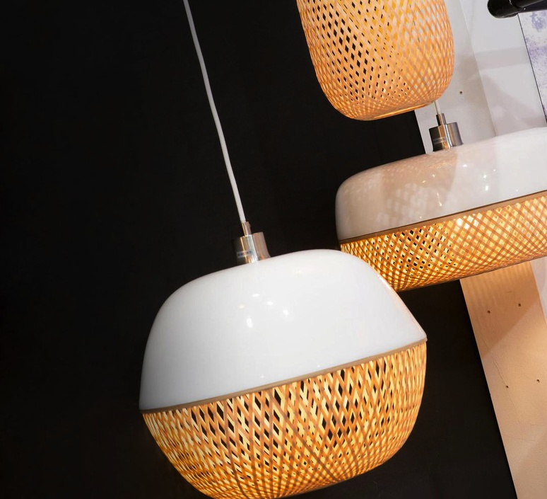 Mekong round good mojo studio suspension pendant light  it s about romi mekong h32 w  design signed 35211 product