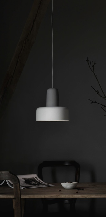Suspension meld gris blanc casse o24cm h24cm northern lighting normal