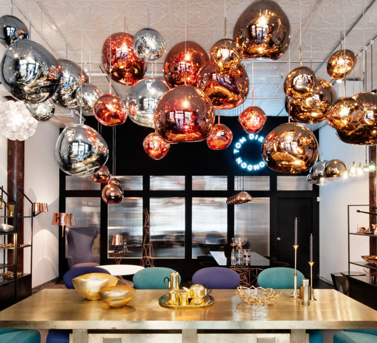 Melt tom dixon suspension pendant light  tom dixon mes01cheu   design signed 33983 product