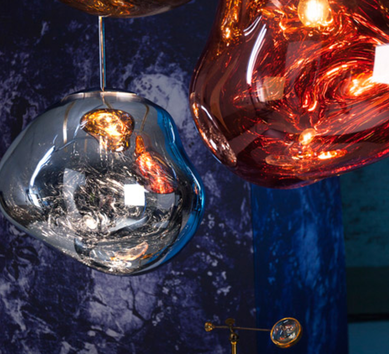 Melt tom dixon suspension pendant light  tom dixon mes01cheu   design signed 33985 product