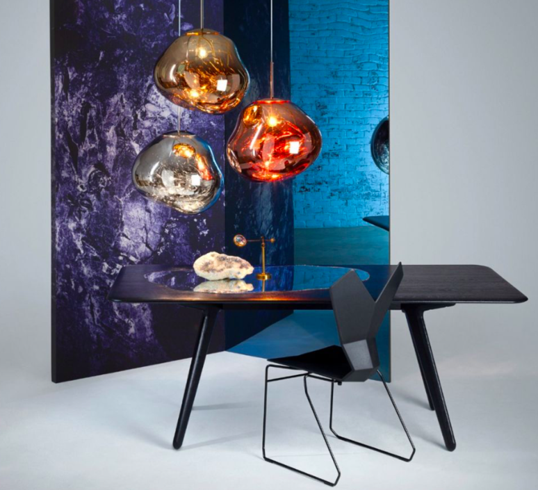 Melt tom dixon suspension pendant light  tom dixon mes01cheu   design signed 33988 product