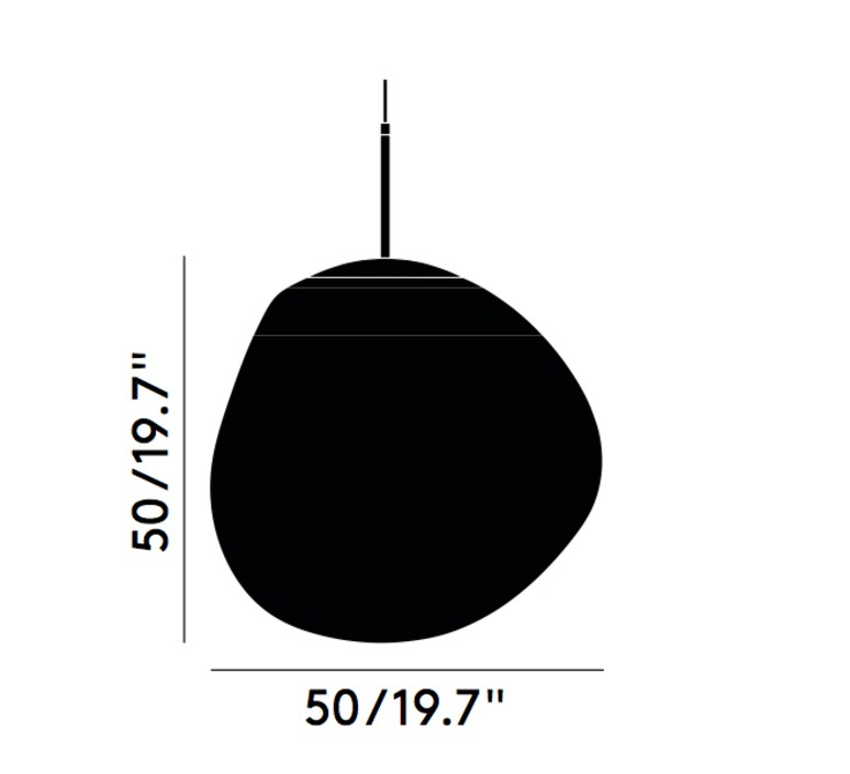 Melt tom dixon suspension pendant light  tom dixon mes01geu   design signed 67440 product