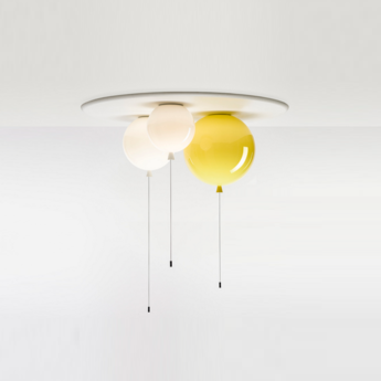 Suspension memory 3 balloons blanc h240cm brokis normal