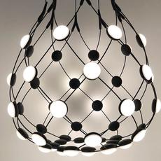 Mesh d86c55 francisco gomez paz suspension pendant light  luceplan 1d860c550001  design signed 54791 thumb