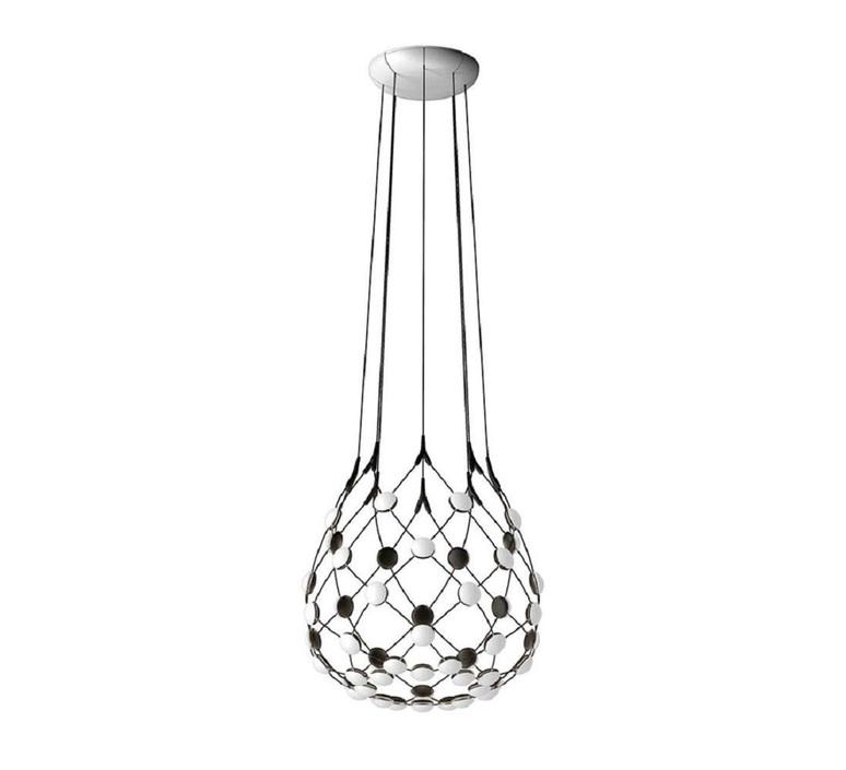 Mesh d86c55 francisco gomez paz suspension pendant light  luceplan 1d860c550001  design signed 54794 product