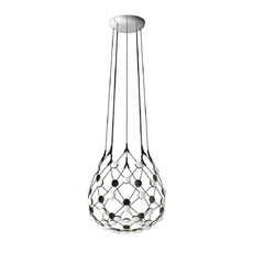 Mesh d86c55 francisco gomez paz suspension pendant light  luceplan 1d860c550001  design signed 54794 thumb