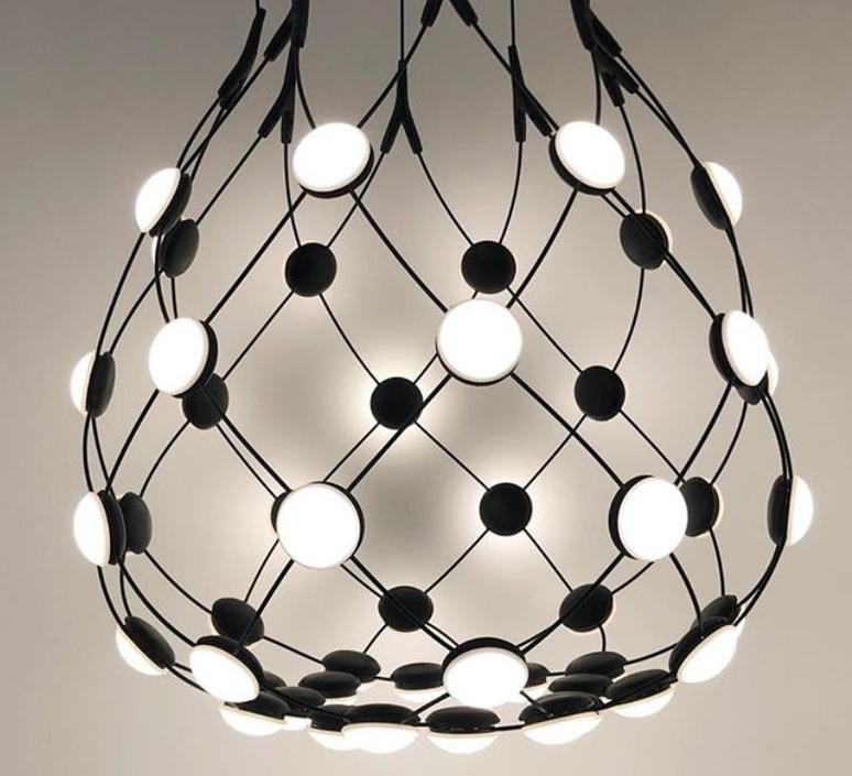 Mesh d86c55 francisco gomez paz suspension pendant light  luceplan 1d860c550001  design signed 55377 product