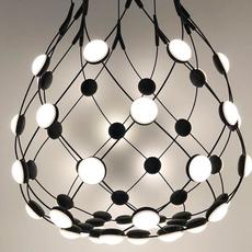 Mesh d86c55 francisco gomez paz suspension pendant light  luceplan 1d860c550001  design signed 55377 thumb