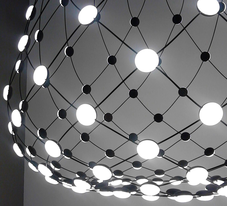 Mesh d86n francisco gomez paz suspension pendant light  luceplan 1d860n000001 1d860 t11001  design signed 55647 product