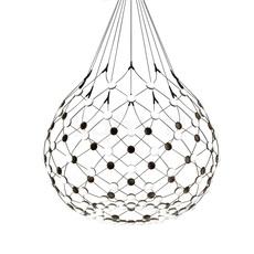 Mesh d86n francisco gomez paz suspension pendant light  luceplan 1d860n000001 1d860 w10001 1d860 100000  design signed 55630 thumb