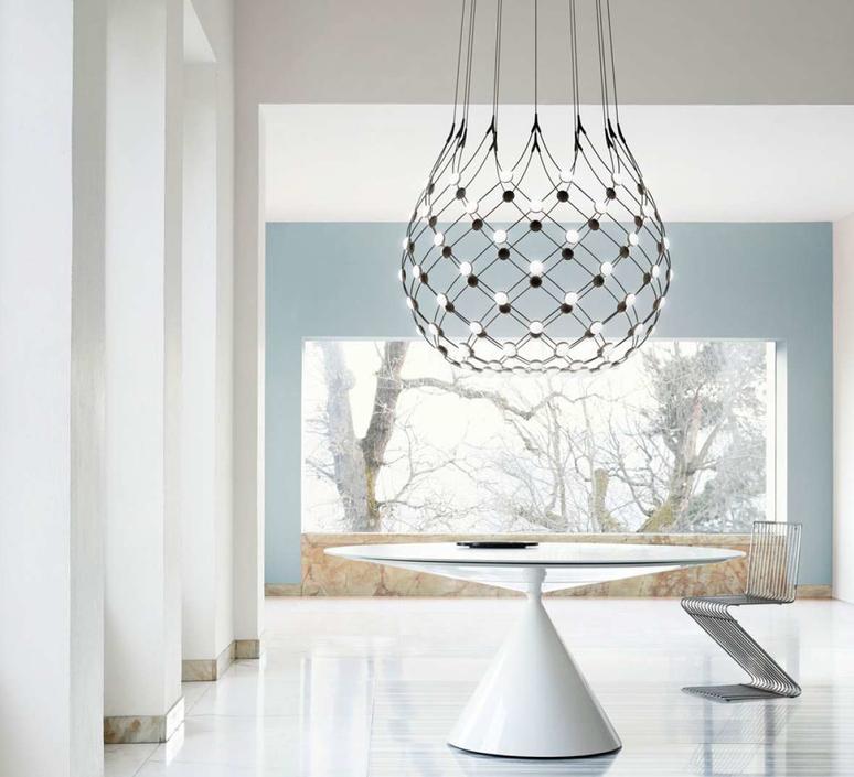 Mesh d86n francisco gomez paz suspension pendant light  luceplan 1d860n000001 1d860 w10001 1d860 100000  design signed 55634 product