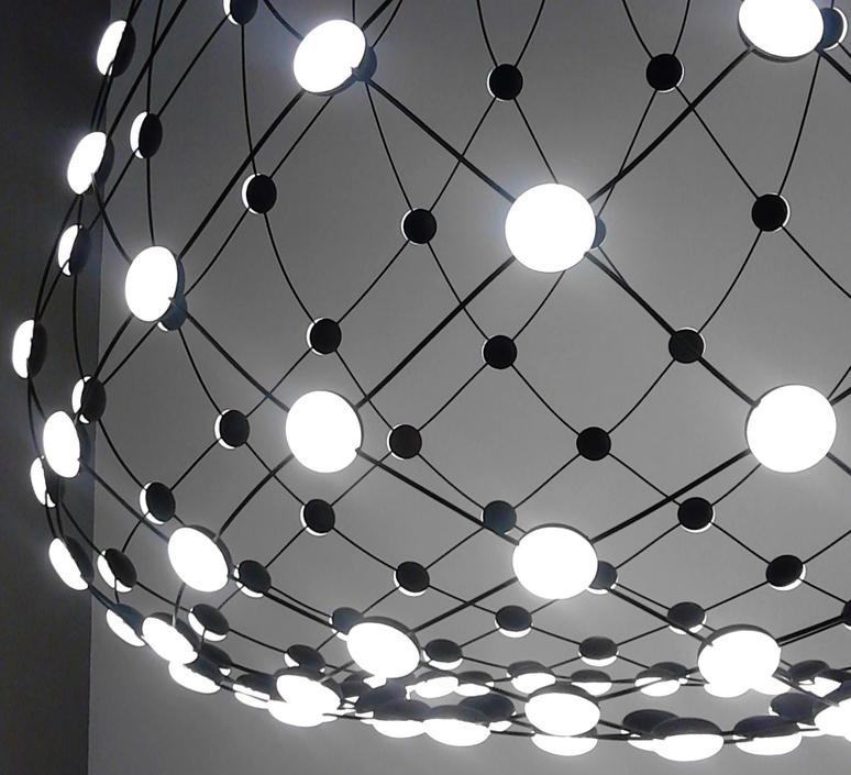 Mesh d86n francisco gomez paz suspension pendant light  luceplan 1d860n000001 1d860 t51001  design signed 55656 product