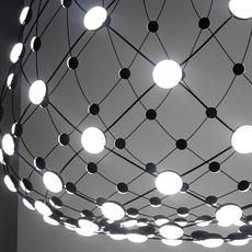 Mesh d86n francisco gomez paz suspension pendant light  luceplan 1d860n000001 1d860 t51001  design signed 55656 thumb