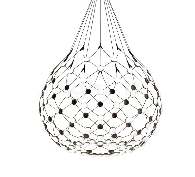 Mesh d86n francisco gomez paz suspension pendant light  luceplan 1d860n000001 1d860 t51001  design signed 55658 product