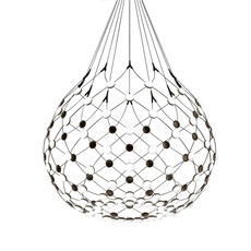 Mesh d86n francisco gomez paz suspension pendant light  luceplan 1d860n000001 1d860 t51001  design signed 55658 thumb