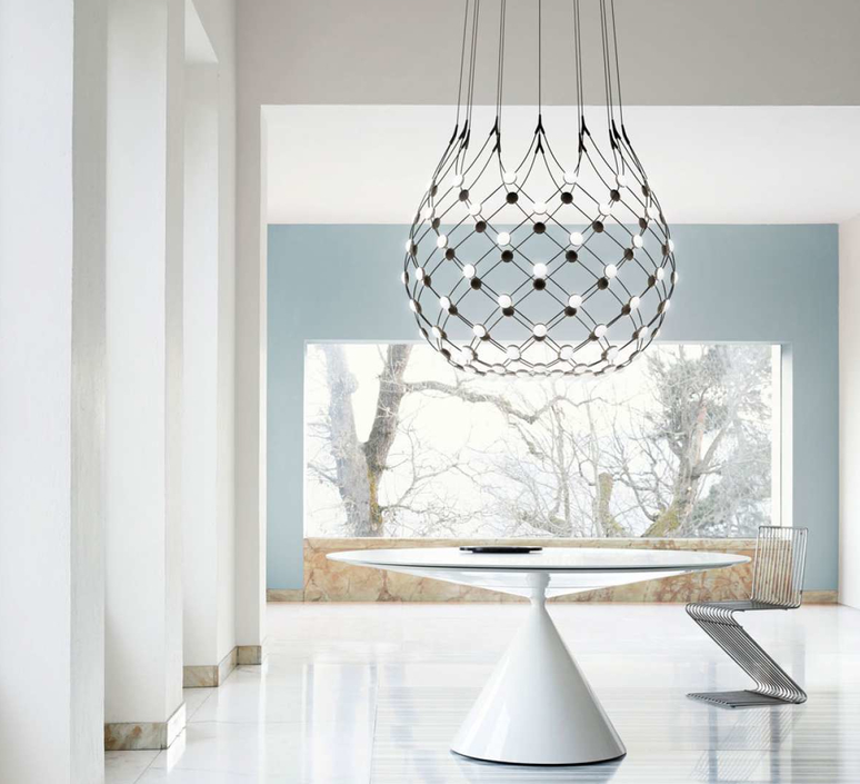 Mesh d86n francisco gomez paz suspension pendant light  luceplan 1d860n000001 1d860 t51001  design signed 55662 product