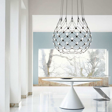 Mesh d86n francisco gomez paz suspension pendant light  luceplan 1d860n000001 1d860 t51001  design signed 55662 thumb