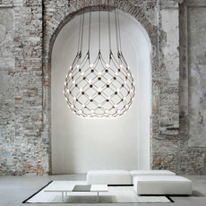 Mesh d86n francisco gomez paz suspension pendant light  luceplan 1d860n000001 1d860 t51001  design signed 55663 thumb