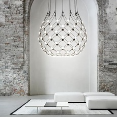 Mesh d86n francisco gomez paz suspension pendant light  luceplan 1d860n000001 1d860 t51001  design signed 98028 thumb