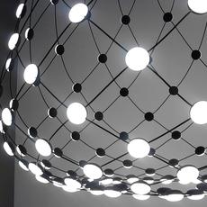 Mesh d86npi francisco gomez paz suspension pendant light  luceplan 1d860n800001 1d860 w10001 1d860 100000  design signed 55698 thumb