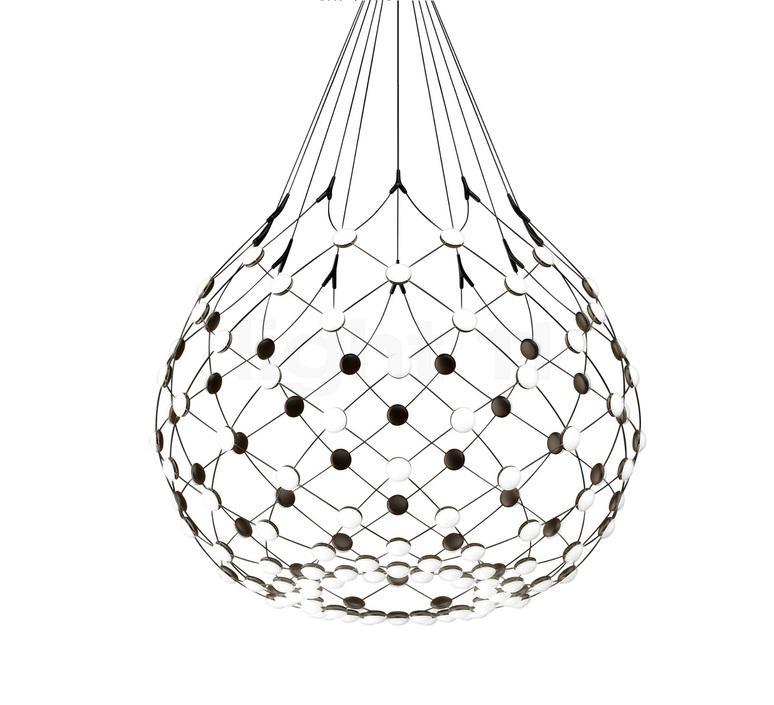Mesh d86npi francisco gomez paz suspension pendant light  luceplan 1d860n800001 1d860 w10001 1d860 100000  design signed 55725 product
