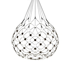 Mesh d86npi francisco gomez paz suspension pendant light  luceplan 1d860n800001 1d860 w10001 1d860 100000  design signed 55725 thumb